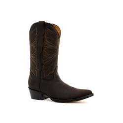 Grinders Dallas Brown Womens Cowboy Boots