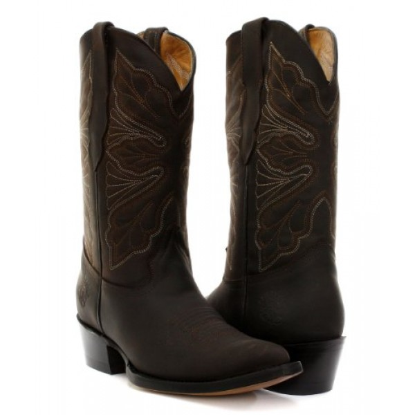 newest collection cb56a 50085 Grinders Dallas Brown Womens Cowboy Boots, Ladies Grinders ...