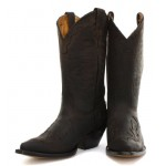 Grinders Arizona Dark Brown Mens Cowboy Boots, Gents Grinders, Grinders Arizona Dark Brown, ,