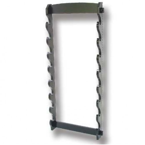 Martial Arts Weapons Stand - Sword Stand 8 Tier Wall Mounted, Martial Arts, 8 Tiers, ,