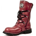 NEW ROCK COMFORT-FIT M.1473-S12 NATURE RED Leather Boots (SPIDER LINER), COMFORT-LIGHT, COMFORT-FIT M.1473-S12, COMFORT-FIT M.1473-S12,