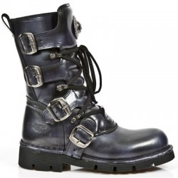 NEW ROCK COMFORT-FIT M.1473-S27 LILAC Leather Boots
