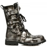 NEW ROCK COMFORT-FIT M.1473-S5 STEEL, BLACK Leather Boots, COMFORT-LIGHT, COMFORT-FIT M.1473-S5, COMFORT-FIT M.1473-S5,