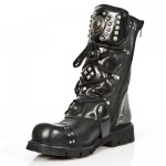 NEW ROCK COMFORT-FIT M.1474-S1 BLACK Leather Boots, COMFORT-LIGHT, COMFORT-FIT M.1474-S1, COMFORT-FIT M.1474-S1,