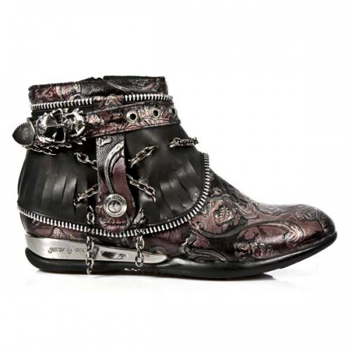 NEW ROCK APACHE M.HY101-C3 VINTAGE FLOWER RED BLACK HYBRID, APACHE, APACHE M.HY101-C3, APACHE M.HY101-C3,