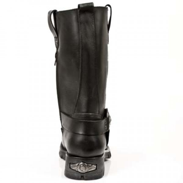 New Rock Boots Mens Style 7610 S1 black