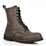 NEW ROCK NEWMILI M.NEWMILI084-S2 BROWN LEATHER LACE UP BOOTS, NEWMILI, NEWMILI M.NEWMILI084-S2, NEWMILI M.NEWMILI084-S2,