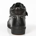 NEW ROCK PISA M.PS007-S1 BLACK LEATHER LACE UP SHOES, PISA, PISA M.PS003-S1, PISA M.PS003-S1,