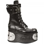 NEW ROCK SPACE M.312-C10 SHIFTING BLACK STEEL PLATFORM, SPACE, SPACE M.312-C10, SPACE M.312-C10,