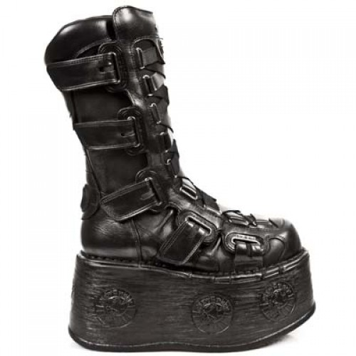 NEW ROCK SPACE M.189-S1 PLATFORM BLACK SHIFTING, SPACE, SPACE M.189-S1, SPACE M.189-S1,