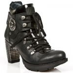 NEW ROCK TRAIL M.TR010-S1 BLACK STEEL HEEL LEATHER BOOTS, TRAIL, M.TR010-S1, M.TR010-S1,