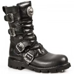 NEW ROCK COMFORT-FIT M.1473-S1 BLACK LEATHER BOOTS, COMFORT-LIGHT, NEW ROCK COMFORT-FIT M.1473-S1, M.1473-S1 BLACK,