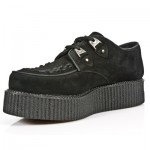 NEW ROCK CREEPER M.2415-C3 BLACK SUEDE LEATHER SHOES, CREEPER, NEW ROCK CREEPER M.2415-C3, M.2415-C3 BLACK SUEDE,